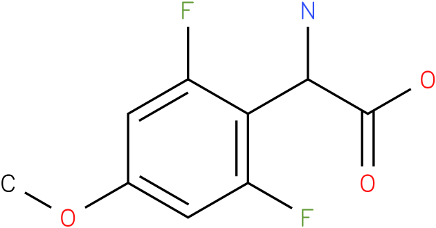 Amino-(2,6-difluoro-4-methoxy-phenyl)-acetic acid