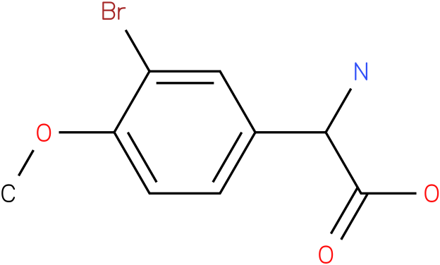 Amino-(3-bromo-4-methoxy-phenyl)-acetic acid