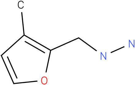 1-[(3-methylfuran-2-yl)methyl]hydrazine