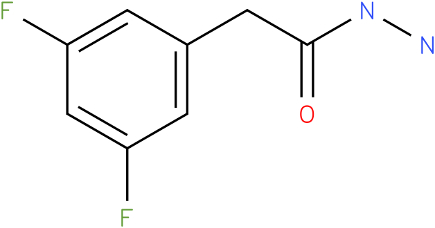 2-(3,5-Difluorophenyl)acetic acid hydrazide