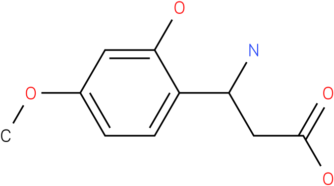 3-Amino-3-(2-hydroxy-4-methoxy-phenyl)-propionic acid
