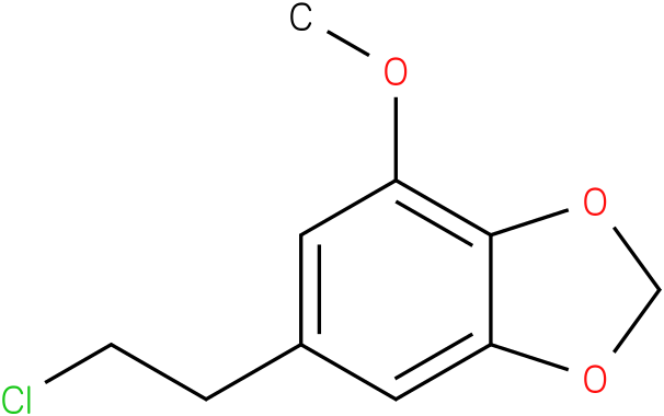 6-(2-chloro-ethyl)-4-methoxy-benzo[1,3]dioxole