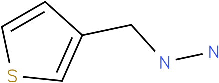 1-(thiophen-3-ylmethyl)hydrazine