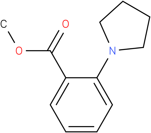 methyl 2-(pyrrolidin-1-yl)benzoate