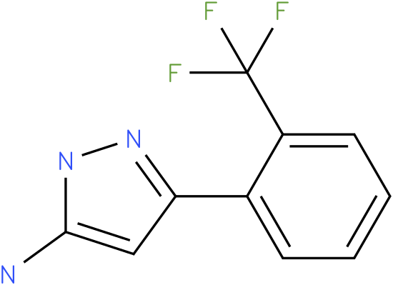 5-(2-Trifluoromethyl-phenyl)-2H-pyrazol-3-ylamine