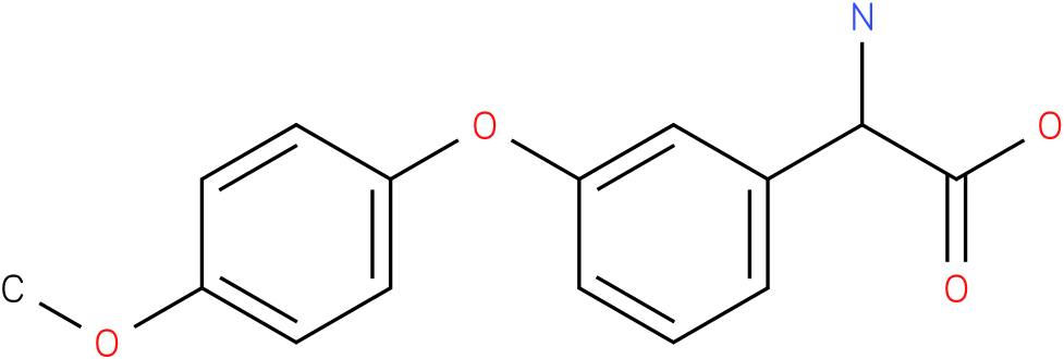 Amino-[3-(4-methoxy-phenoxy)-phenyl]-acetic acid