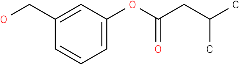 3-(Hydroxymethyl)phenyl 3-methylbutanoate