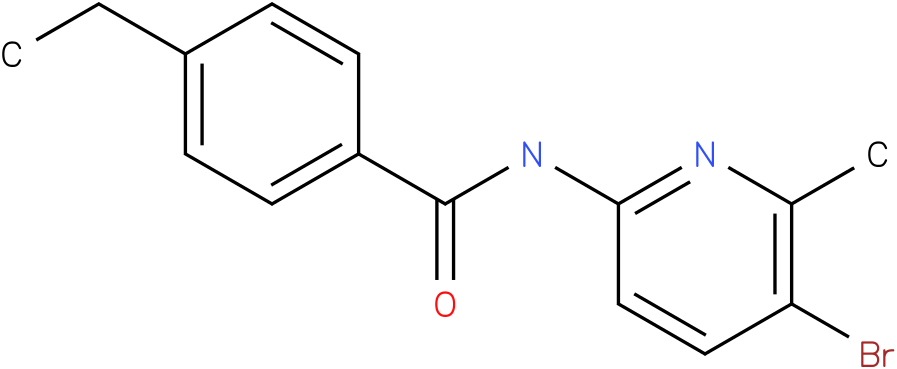 Benzamide,N-(5-bromo-6-methyl-2-pyridinyl)-4-ethyl-
