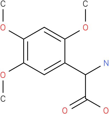 Amino-(2,4,5-trimethoxy-phenyl)-acetic acid
