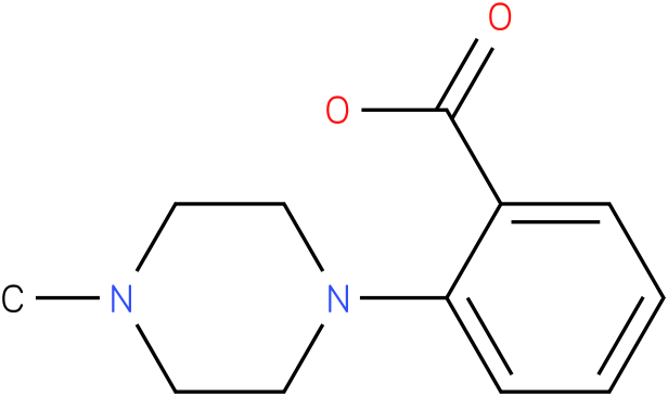 2-(4-Methyl-piperazin-1-yl)-benzoic acid