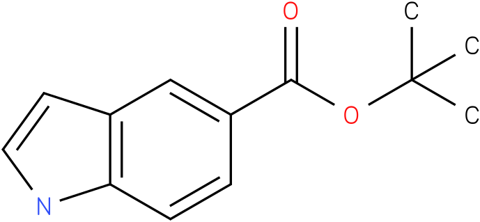 tert-butyl 1H-indole-5-caboxylate