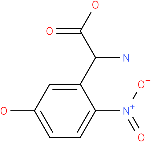 Amino-(5-hydroxy-2-nitro-phenyl)-acetic acid