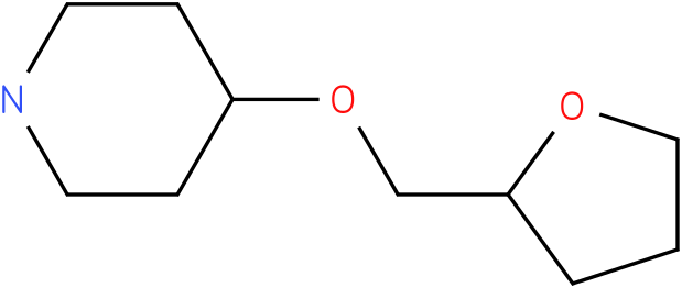 4-(TETRAHYDROFURAN-2-YLMETHOXY)PIPERIDINE