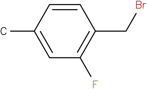 1-(bromomethyl)-2-fluoro-4-methylbenzene