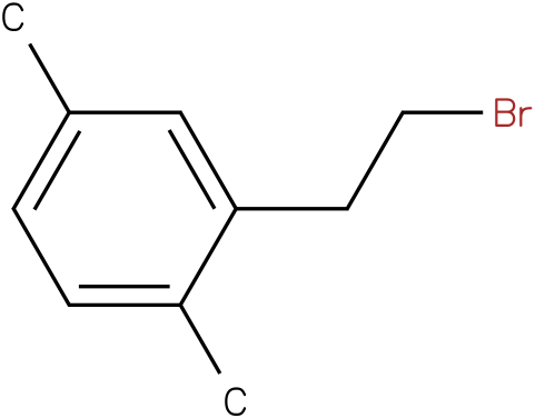 2-(2-bromoethyl)-1,4-dimethylbenzene