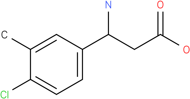 3-Amino-3-(4-chloro-3-methyl-phenyl)-propionic acid