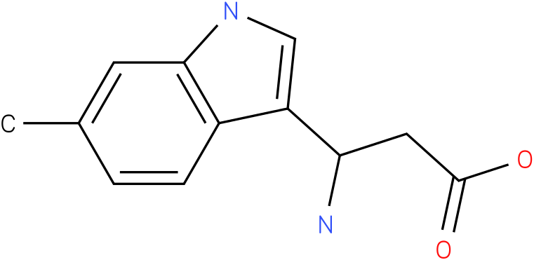 3-Amino-3-(6-methyl-indol-3-yl)-propionic acid