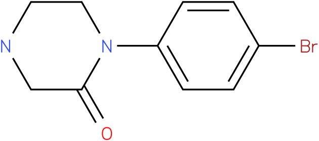 1-(4-bromo-phenyl)-piperazin-2-one