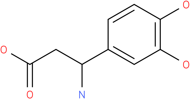 3-Amino-3-(3,4-dihydroxy-phenyl)-propionic acid