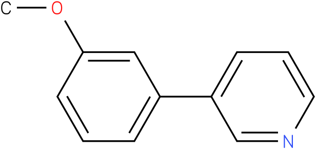3-(3-methoxyphenyl)pyridine