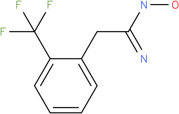 BENZENEETHANIMIDAMIDE,2-(TRIFLUOROMETHYL)-,N-HYDROXY
