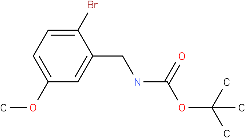 (2-Bromo-5-methoxy-benzyl)-carbamic acid tert-butyl ester