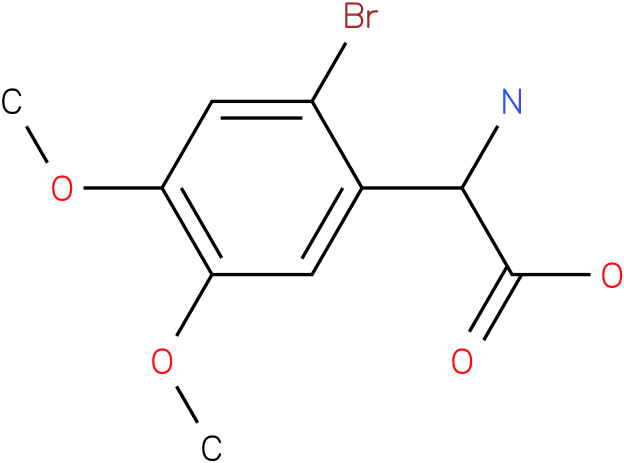 Amino-(2-bromo-4,5-dimethoxy-phenyl)-acetic acid
