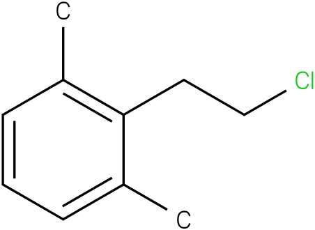 2-(2-chloroethyl)-1,3-dimethylbenzene