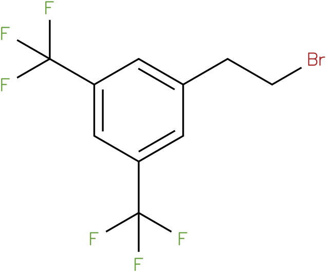 1-(2-bromoethyl)-3,5-bis(trifluoromethyl)benzene