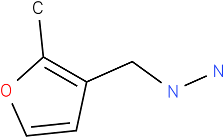 1-((2-methylfuran-3-yl)methyl)hydrazine