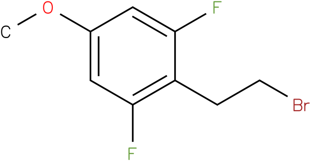 2-(2-bromoethyl)-1,3-difluoro-5-methoxybenzene