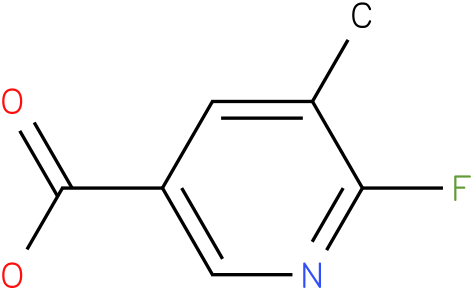 2-Fluoro-3-methylpyridine-5-carboxylic acid