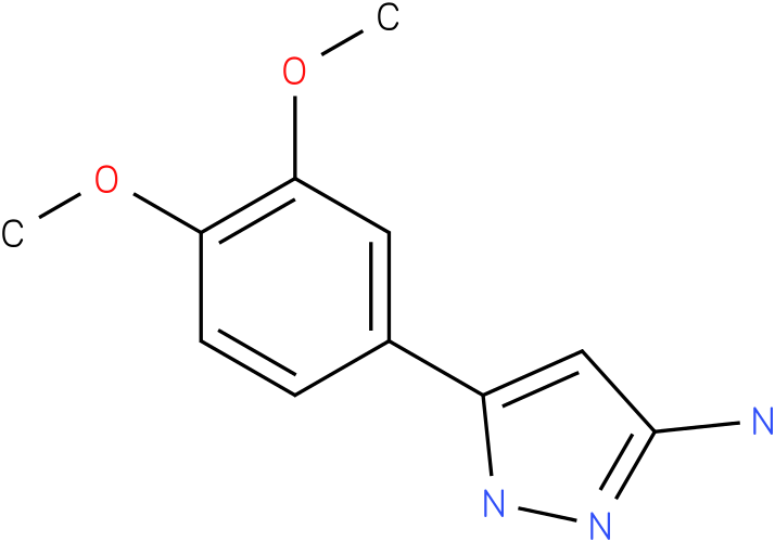 5-(3,4-Dimethoxy-phenyl)-2H-pyrazol-3-ylamine