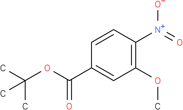tert-butyl 3-methoxy-4-nitrobenzoate