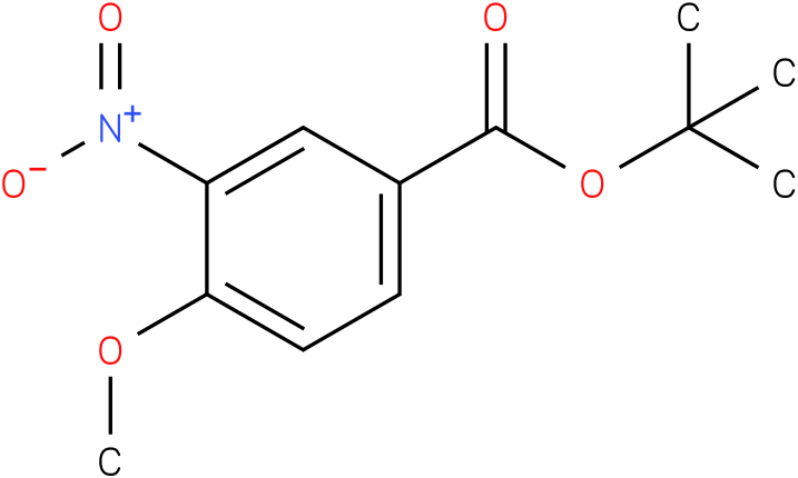 tert-butyl 4-methoxy-3-nitrobenzoate