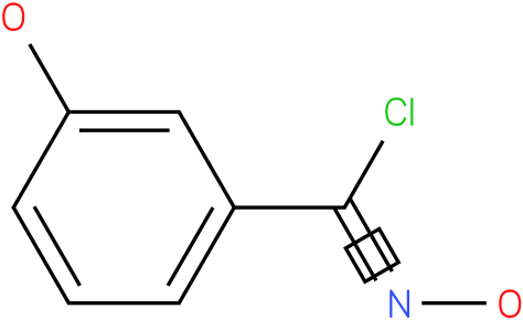 N,3-DIHYDROXY-BENZENE CARBOXIMIDOYL CHLORIDE