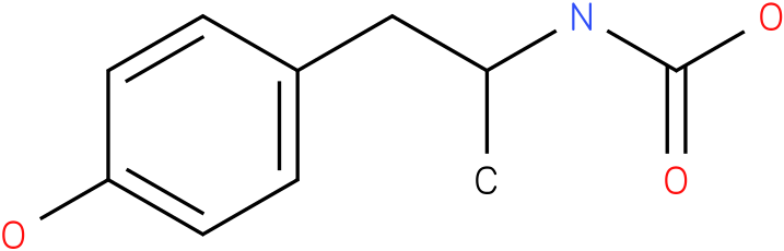 Carbamic acid,[2-(4-hydroxyphenyl)-1-methylethyl]-,1,1-dimethylethyl ester (9Cl)