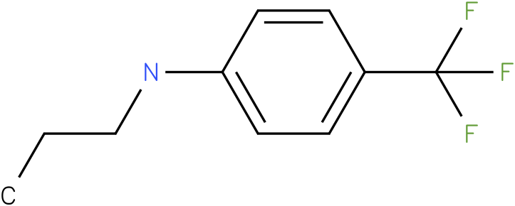 Propyl-(4-trifluoromethyl-phenyl)-amine