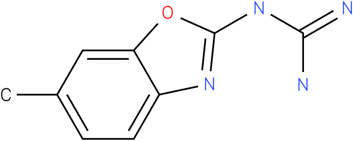 GUANIDINE,(6-METHYL-2-BENZOXAZOLYL)-