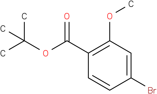 tert-butyl 4-bromo-2-methoxybenzoate