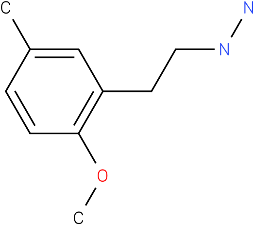 1-[-(2-methoxy-5-methylphenyl)ethyl]hydrazine