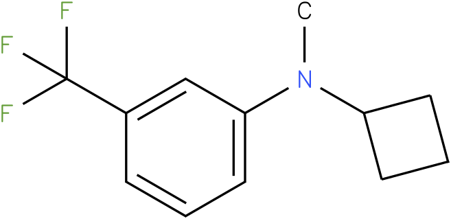 Cyclobutylmethyl-(3-trifluoromethyl-phenyl)-amine
