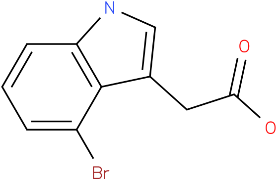 2-(4-bromo-1H-indol-3-yl)acetic acid