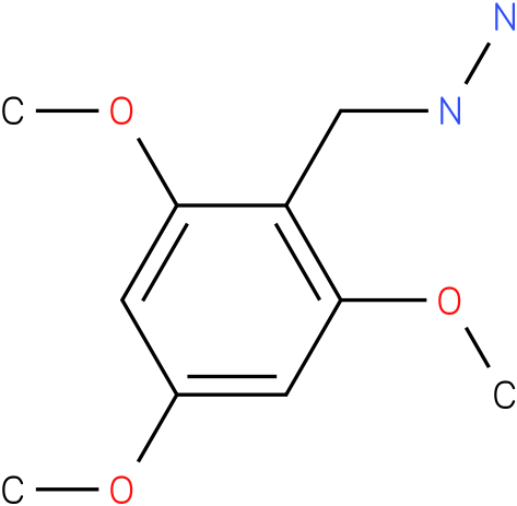 1-(2,4,6-trimethoxybenzyl)hydrazine