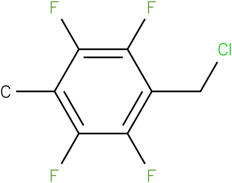 1-(chloromethyl)-2,3,5,6-tetrafluoro-4-methylbenzene