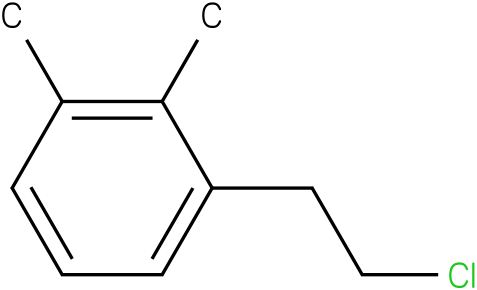 1-(2-chloroethyl)-2,3-dimethylbenzene