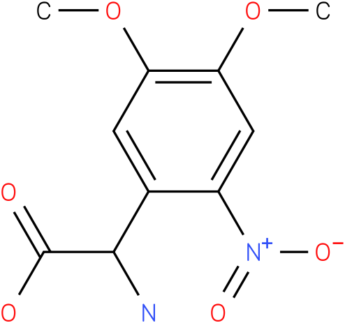 Amino-(4,5-dimethoxy-2-nitro-phenyl)-acetic acid