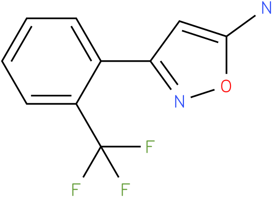 3-(2-Trifluoromethyl-phenyl)-isoxazol-5-ylamine