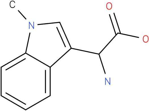 Amino-(1-methyl-1H-indol-3-yl)-acetic acid