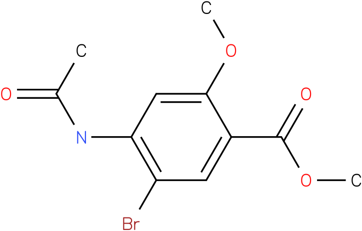 4-Acetylamino-5-bromo-2-methoxy-benzoic acid methyl ester